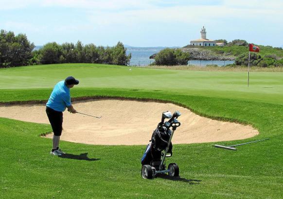 """Die Fachbesucher des """"International Golf Travel Markets"""" sollen sehen, dass es auf Mallorca schöne Golfplätze gibt - hier zum Be"""