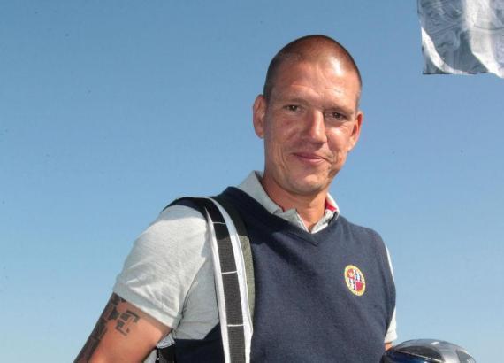 Atlético Baleares Trainer Christian Ziege musste das Spiel in Palma de Mallorca von der Tribüne aus betrachten.