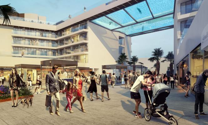 So soll das neue Hotel im Jahre 2018 einmal aussehen.