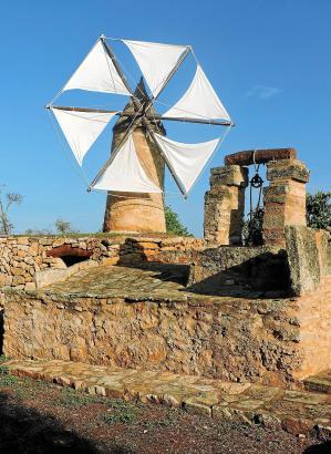 Windmühle auf Mallorca.