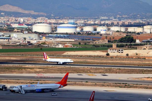"""Die Flüge von Palma de Mallorca zum spanischen Festland sind """"zwischen den Jahren"""" gefragt."""
