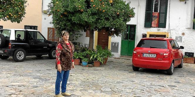 """Margdalena Moragues ist eine der Anwohnerinnen, die am meisten durch den Lärm des """"Tardeo"""" in Es Jonquet in Palma de Mallorca ge"""