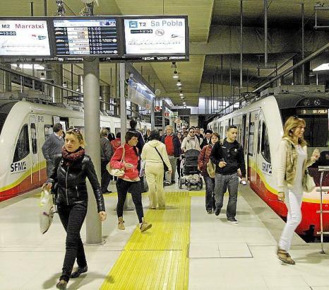 Bald soll die Bürgerkarte auch für die Metro in Palma de Mallorca genutzt werden können.