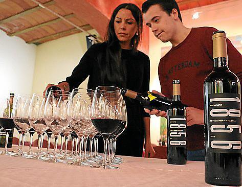 """Macià Batle hat die neue Weinlinie """"1856"""" vorgestellt."""