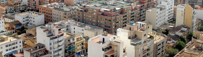 Vor allem in Palma de Mallorca ist der Wohnraum knapp.