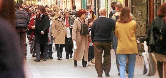 Viele Menschen, die nach Mallorca kommen, stammen aus Europa.