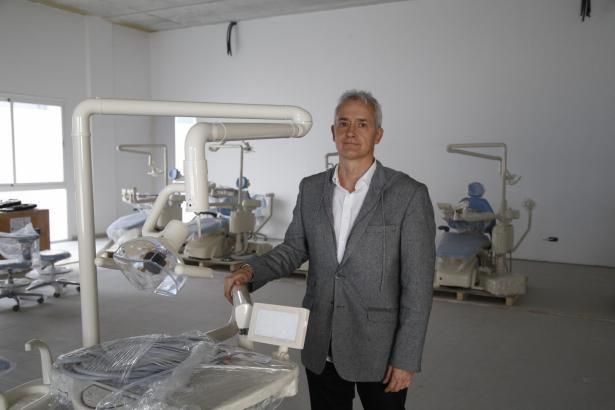 Diego González von der ADEMA-Akademie auf Mallorca.