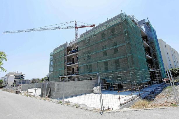 Neubauprojekt auf Ibiza.