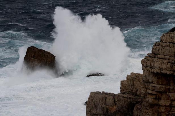 Starke Winde und starker Wellengang am Donnerstag und Freitag auf und um Mallorca.