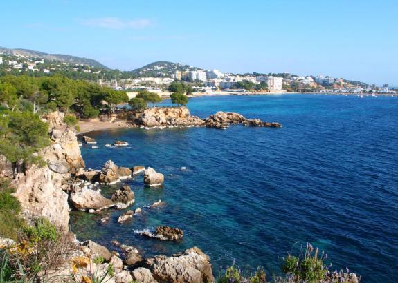 Auch an diesem Wochenende verwöhnt die Sonne Mallorca. Dieses Foto entstand an der Südwestküste.