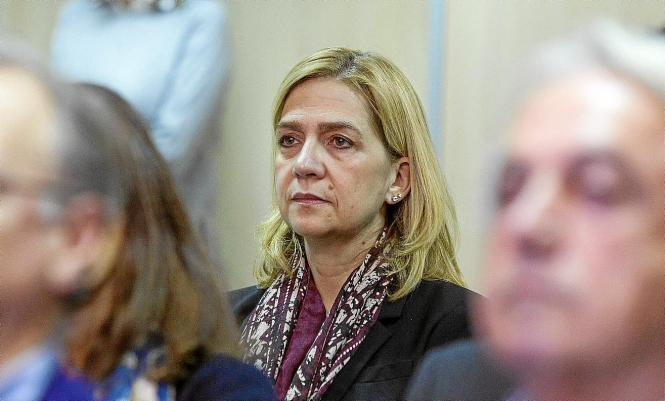 Infantin Cristina vor Gericht auf Mallorca.