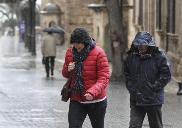 Vor allem am Dienstag und Mittwoch wird Regen und sogar Schnee auf Mallorca erwartet.