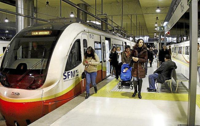 Streik bei den Zügen auf Mallorca.