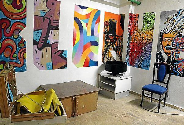 Kunst im Untergeschoss: Alle zwei Monate übermalen die Urban Artists ihre Bilder.