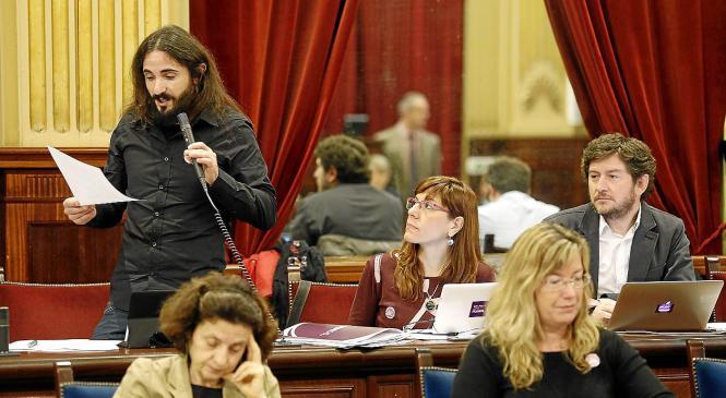 Ist der Arbeiter Baltasar Picornell als Parlamentspräsident ausreichend qualifiziert?
