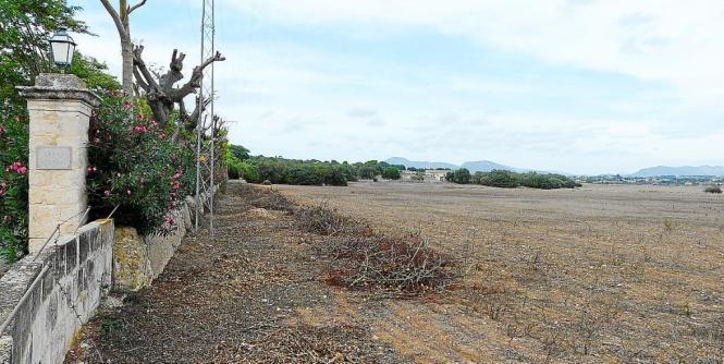 Auf der Gelände Santa Cirga soll ein Solarpark entstehen