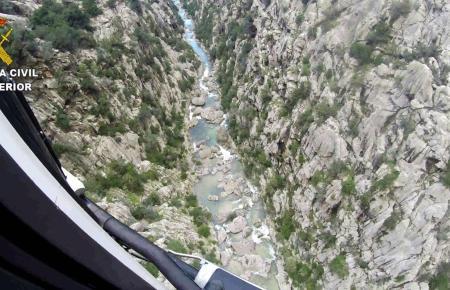 Spektakuläre Rettung per Hubschrauber aus dem Torrent de Pareis