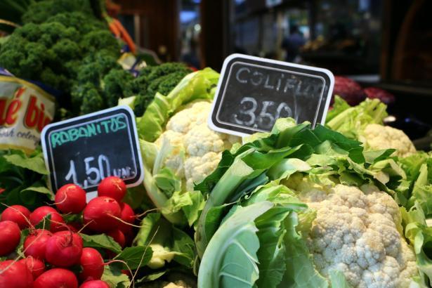 Teures Gemüse auf Mallorca.