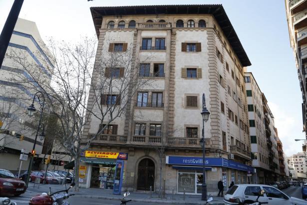 Die Tage des Gebäudes am Paseo Mallorca scheinen gezählt.
