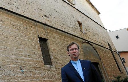 Ist gespannt, wie sich die Innenstadt von Palma im Hochsommer zeigt: Pfarrer Andreas Falow.