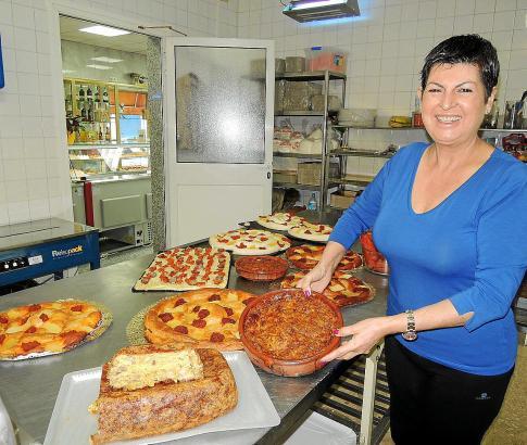 Margalida Serra von der Bäckerei Reina Maria Cristina.