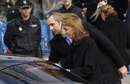Prinzessin Cristina und Iñaki Urdangarin: der Nóos-Prozess in Bildern