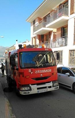 Die Feuerwehr konnte verhindern, dass sich das Feuer auf die anderen Wohnungen ausbreitete