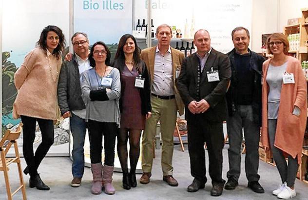Die teilnehmenden Firmenvertreter von den Balearen.