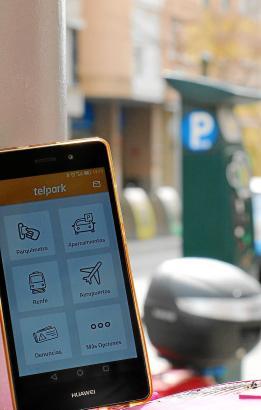 Die App Telpark funktioniert auf Mallorca vorläufig nur in Palma.
