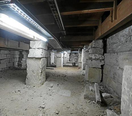 Wiederentdeckt wurde der Hohlraum vor wenigen Jahren bei Restaurierungsarbeiten.