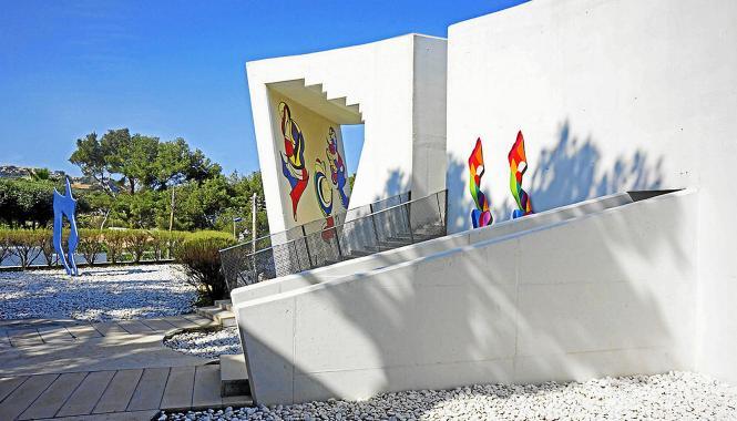 Die Kunst von Barbara Weil und die Architektur von Daniel Libeskind sind wie für einander geschaffen.