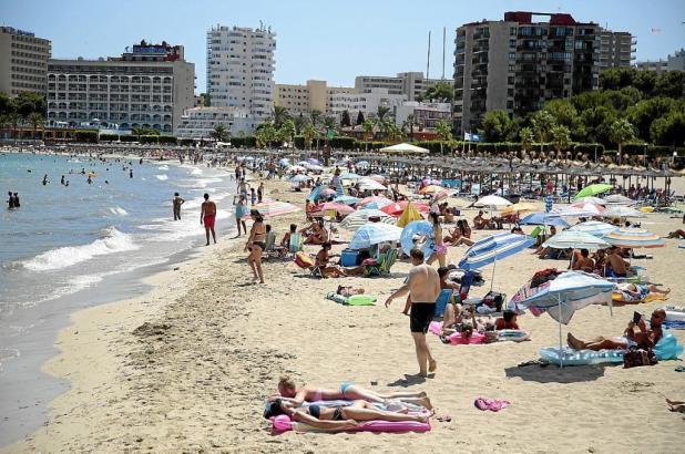 Knapp ein Viertel der Touristen auf Mallorca sind Briten.
