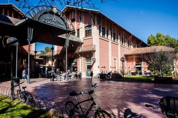 Der Mercado Gastronómico San Juan im Escorxador in Palma de Mallorca.