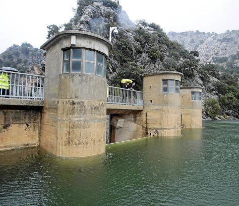 Im Januar musste sogar Wasser aus den Tramuntana-Stauseen abgelassen werden