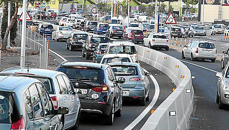 In einem Jahr kamen in Palma fast 7000 motorisierte Fahrzeuge hinzu.