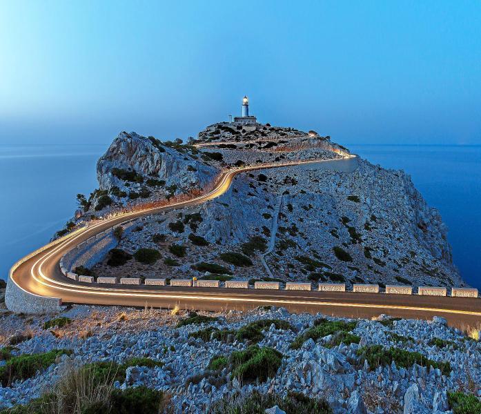 Diese Aufnahme von Achim Strauch am Kap Formentor wurde mit Platz eins belohnt. Das Foto wird Bestandteil des MM-Kalenders 2018