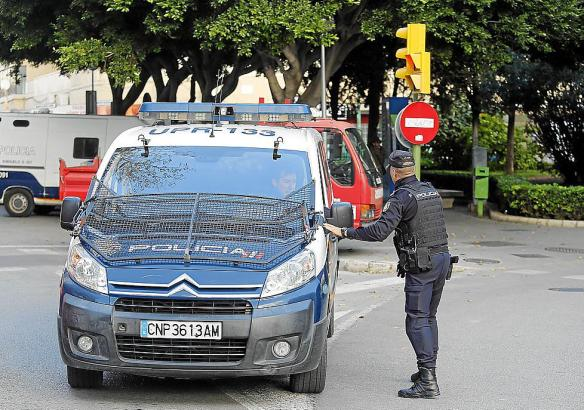 Die Polizei konnte den Dieb an der Playa de Palma schnell festnehmen.