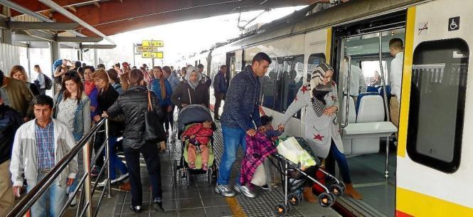 Wenn die Lokführer auf Mallorca streiken wird es voll an Mallorcas Bahnhöfen.