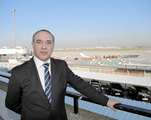 Flughafen-Direktor José Antonio Álvarez steht dem Airport Palma seit 2011 vor.