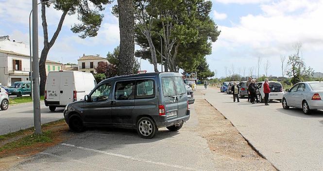 Auch die Parkplätze an der Avenida Costa i Llobera sollen ausgebessert werden.