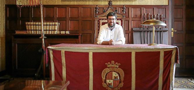 Palmas Baudezernent Toni Noguera wird zur Halbzeit der Legislaturperiode auch zum Oberbürgermeister der Balearen-Hauptstadt werd