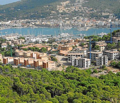 Monport befindet sich oberhalb von Port d'Andratx.