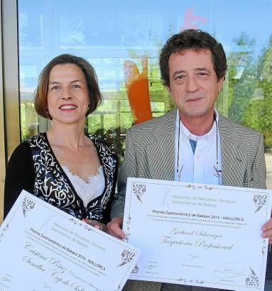 Erfolgreiches Duo: Cristina Pérez und Gerhard Schwaiger.