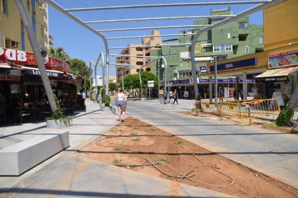 Archivbild von Baustellen in Magaluf im Südwesten von Mallorca.
