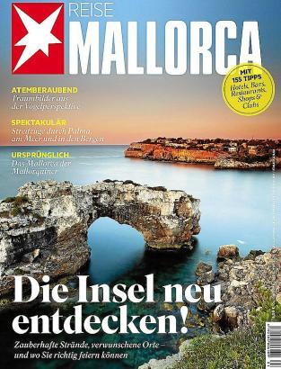 Auf dem Cover des Sonderhefts werden unter anderem 155 Mallorca-Tipps angekündigt.