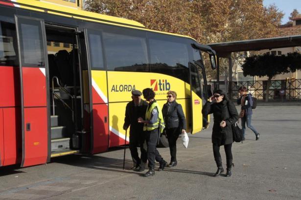 Unmut bei den Fahrgästen der Überlandbusse auf Mallorca.