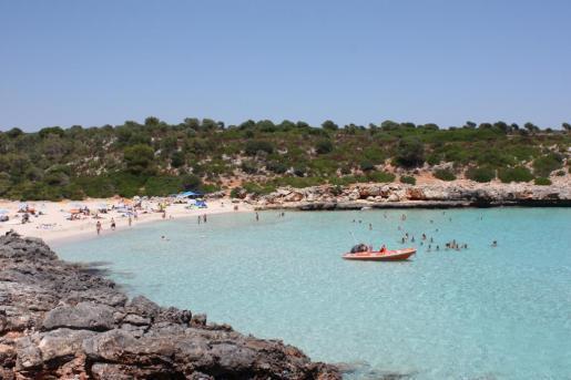 Die Cala Varques im Osten von Mallorca.