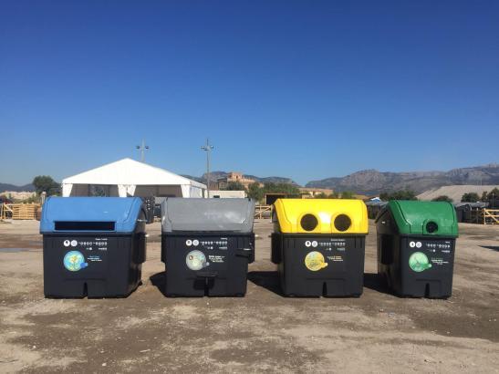 Die neuen Abfallcontainer für Palma.
