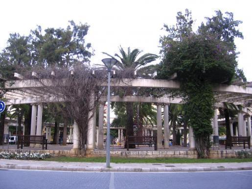 Die Plaça Francesc García i Orell in Palma de Mallorca.