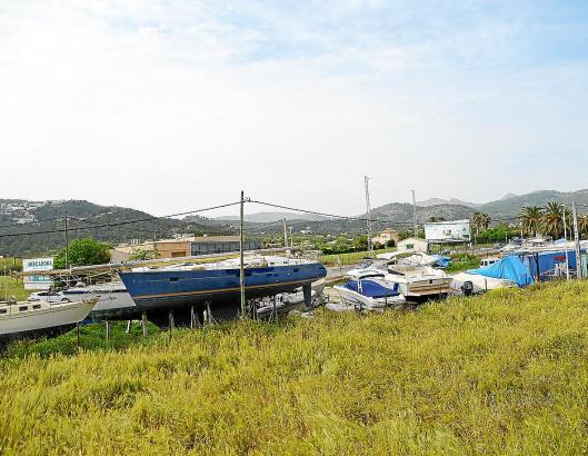 Die Trockenstellplätze für Boote sind seit Jahren ein Streitthema